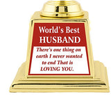 AARK INDIA Best Husband ABS Material Trophy