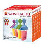 Wonderchef Sippy Plastic Ice-Cream Mould, 350 ml, Multicolour