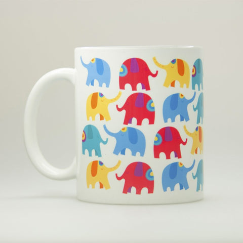 Chumbak Elephant Pattern Coffee Mug
