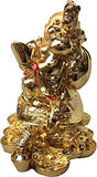 RIPE INDIA® Laughing Buddha with Dragon Showpiece