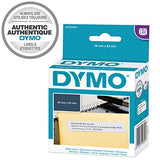 DYMO Authentic LW Multi-Purpose/Return Address Labels, 19mm x 51mm, Self-Adhesive, Roll of 500 Easy-Peel Labels, for LabelWriter Label Makers