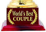 Best Couple Gift : Trophy : Award by AARK India (PC 00469)