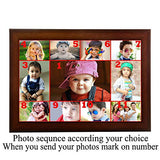Aadinath Collection Personalized Photo Collage of 11 Photo (Photo Size 12x18 inch)