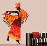 Decals Design 'Beautiful Arabian Dancer' Wall Sticker (PVC Vinyl, 70 cm x 50 cm)