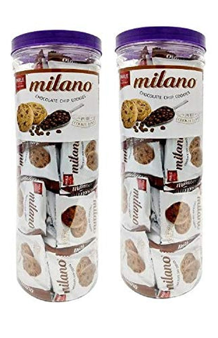 Parle Milano Chocolate Chip Cookies Jar 40 Packets Of 12 5 Each 2 The Craft Gallery