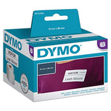 DYMO Authentic LabelWriter Small Name Badge Labels, 41mm x 89mm, Self-Adhesive, Roll of 300 Easy-Peel Labels, for LabelWriter Label Makers