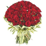 Floralbay Fresh Flowers Bouquet for Red Rose - Bunch of 143