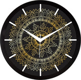 IT2M 11.75 Inches Designer Wall Clock for Home/Living Room/Bedroom / Kitchen (9096)