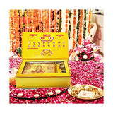 100yellow Diwali Puja Samagri Gift Items Set for deepavali Pooja