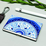 Kolorobia Turkish Blue Visiting Card Holder