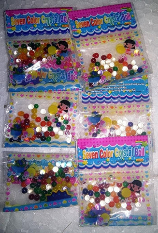 70% Off Exotic and Vibrant water beads / Cheap water beads / magic gel crystal water beads (1 X 1 inches)(Use Coupon Code:50%)