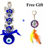Odishabazaar Evil Eye Three Horse Hanging For Good Luck And Prosperity Horse Zodiac
