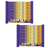 Cadbury 5 Star 3D Chocolate Bar, 45gm (Pack of 24)