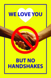 Bikri Kendra - we Love You - Corona Virus Precaution Health Poster for Office, Home, Public Places, Hospital, Clinic, School,Institute, socity, covid-19 / A4 Size