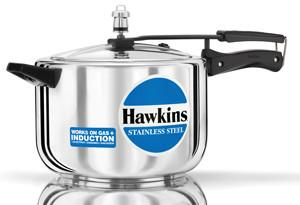 Hawkins Stainless Steel8 Ltr. Pressure Cooker - {variant_title}} - kitchen ware - Hawkins - www.tcgonlinestore.com - www.tcgonlinestore.com