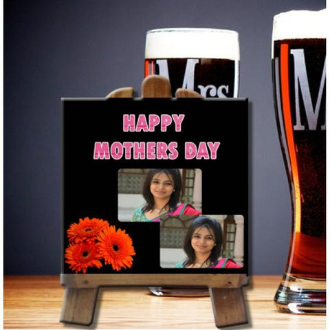 Happy Mothers Day Medium Square Tile - {variant_title}} - photo tile - vtr - www.tcgonlinestore.com - www.tcgonlinestore.com - 1