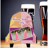 Dual Pic Happy Mothers Day Small Bell Stone - {variant_title}} - photo stone - vtr - www.tcgonlinestore.com - www.tcgonlinestore.com - 1