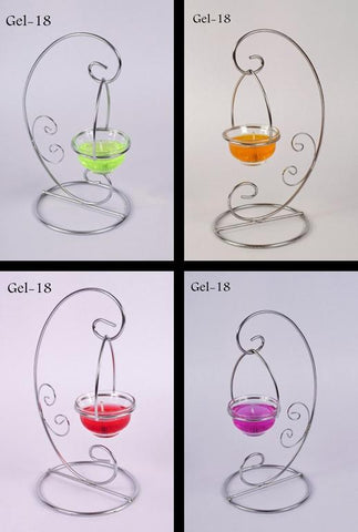Decorative Gel Stand Candle De Dux Gel-18 TCG 124-444 Rs 345