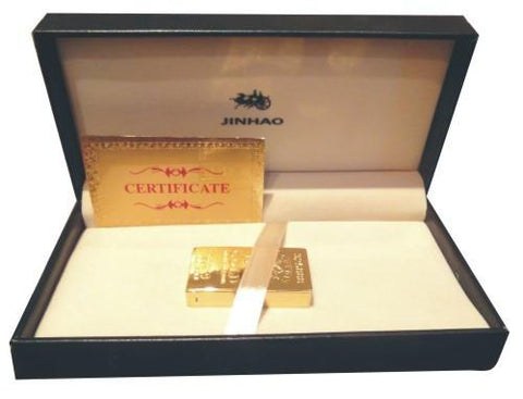 Free Shipping 24k Gold Plated Lighter Along with Certificate of Authenticity - {variant_title}} - lighters - Dharohar - www.tcgonlinestore.com - www.tcgonlinestore.com - 1