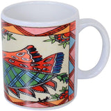 Coffee Mug with Madhubani Painting Shipping Free in 2 Kms - {variant_title}} - Picture Mug - TCG Print Shop - www.tcgonlinestore.com - www.tcgonlinestore.com - 2