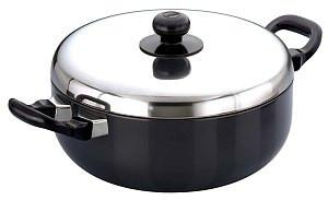 Futura Frying Pans All Purpose Pan 2.5L with stainless steel lid - {variant_title}} - kitchen ware - Hawkins - www.tcgonlinestore.com - www.tcgonlinestore.com - 1