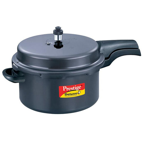 Deluxe Hard- Anodized Pressure Cooker 7.5 Lt-plus - {variant_title}} - kitchen ware - psk - www.tcgonlinestore.com - www.tcgonlinestore.com