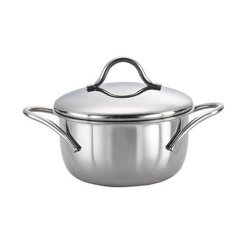 SS Cookware- Casserole 220mm with Lid - {variant_title}} - SS Cookware- Casserole - Casserole - www.tcgonlinestore.com - www.tcgonlinestore.com