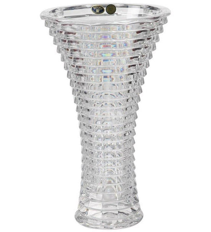 Bohemia Crystal Blade Vase - {variant_title}} - Crystal - TCG Print Shop - www.tcgonlinestore.com - www.tcgonlinestore.com - 1