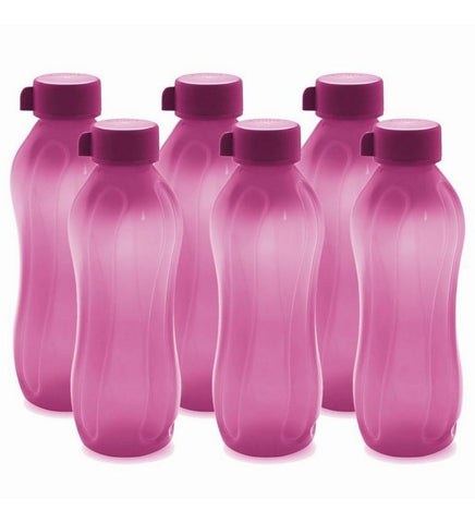 Cello Aqua Kool Pp Bottle 1100 Ml - Set Of 6 Pink - {variant_title}} - Aqua Kool Pp Bottle - AVE - www.tcgonlinestore.com - www.tcgonlinestore.com