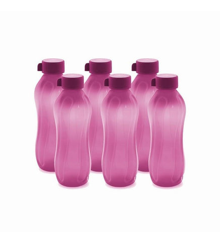 Cello Aqua Kool Pp Bottle 600 Ml - Set Of 6 Pink - {variant_title}} - Bottle set - jindal - www.tcgonlinestore.com - www.tcgonlinestore.com