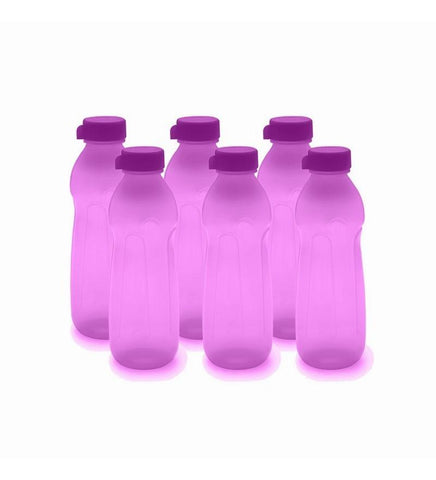 Cello Cool Style Pp Bottle 600 Ml - Set Of 6 Violet - {variant_title}} - Bottle set - AVE - www.tcgonlinestore.com - www.tcgonlinestore.com
