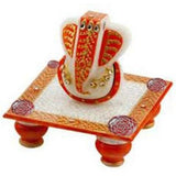 Ganesha & Shree Yantra - {variant_title}} - hand crafted gift - dharohar - www.tcgonlinestore.com - www.tcgonlinestore.com - 1
