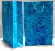 carry bag printed hand made paper mix colours 12 x 16 Inch