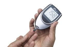 Accu-Check Blood sugar machine with10 free strips
