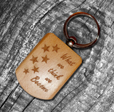 Wooden Engraved Key Chain - {variant_title}} - Personalised Gifts - TCG Print Shop - www.tcgonlinestore.com - www.tcgonlinestore.com