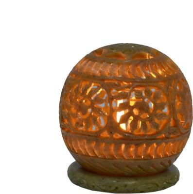 "TCG Free Shipping 2015  Stone Carved Candle Lamp Ball shape 4"" Stoneware 1 - Cup Tealight Holder - {variant_title}} - stone candle holder - www.tcgonlinestore.com - www.tcgonlinestore.com - www.tcgonlinestore.com - 2"