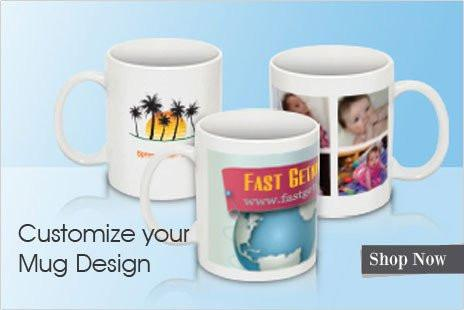 Beautiful Personalized White Photo Mug (Microwave Resistant)