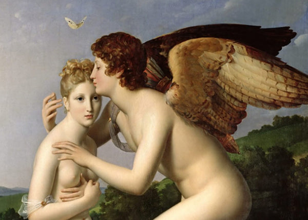 How Cupid and Psyche Met? [Henkerman - Classic High Quality Premium Luxury Hangers]