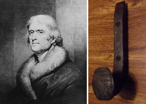 Thomas Jefferson Coat Hook