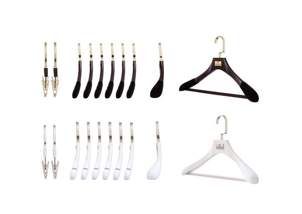 TIP 4. UPDATE YOUR WARDROBE HANGERS