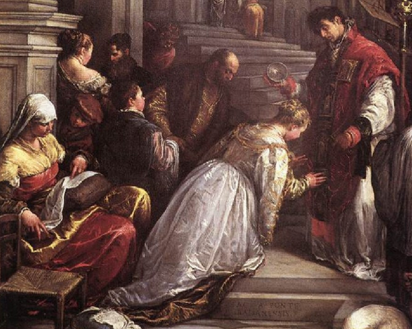 Valentines Married Roman Soldiers in Secret Christian Ceremonies