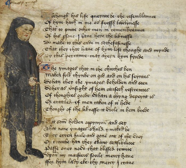 The poet Chaucer in the Middle Ages was the first to link St Valentine's Day back to its roots of romantic love