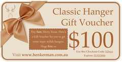 Gift Vouchers - Henkerman - Classic Hanger Collection - 2