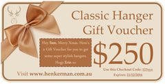 Gift Vouchers - Henkerman - Classic Hanger Collection - 3