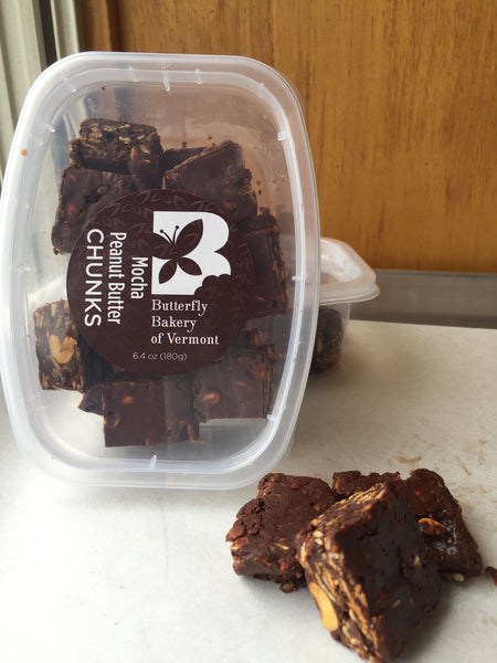 Mocha Peanut Butter Chunks - Butterfly Bakery of Vermont