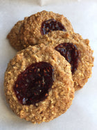 Raspberry Almond Cookies - Butterfly Bakery of Vermont