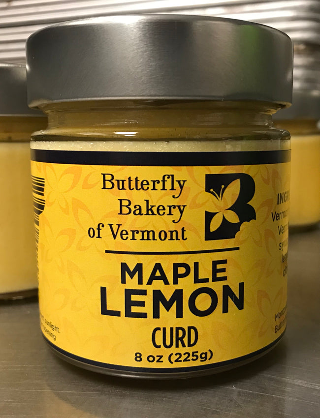 Maple Lemon Curd