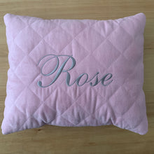 Load image into Gallery viewer, personalized pillow -pink