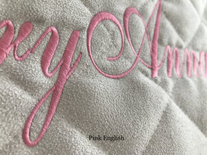 ivory personalized baby play mat