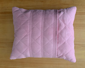 personalized pillow -pink